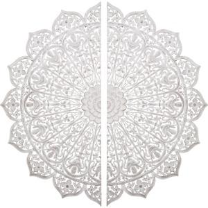 Cadiz Carved Wall Panels - Set of 2