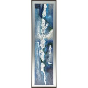 SG Winslow Framed Oil Painting