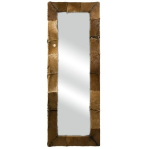 Pacino Animal Hide Floor Mirror