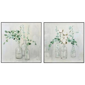 Eucalyptus Bouquet Wall Decor - Ast 2