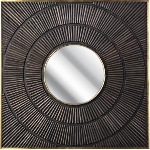Felincia Carved Wood Mirror