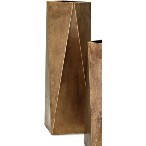 Contempo Metal Vase - Large