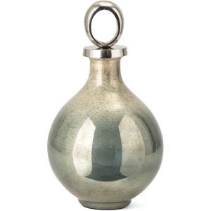 Komi Wide Glass Bottle w/ Aluminum Stopper