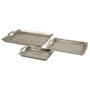 Lindi Aluminum Trays - Set of 3