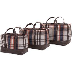 Ski Lodge Baskets - Set of 3
