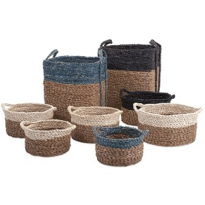 Bennet Woven Baskets - Set of 8