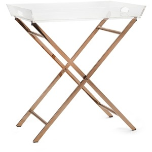 Clinton Acrylic Tray Table