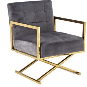 Channing Velvet Arm Chair
