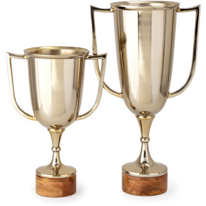 PGA TOUR Clubhouse Trophy Cups - Set of 2