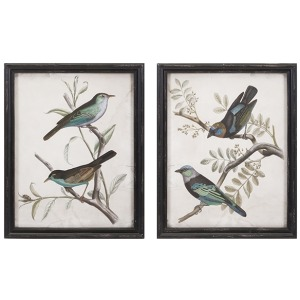 Maisly Bird Wall Decor - Ast 2