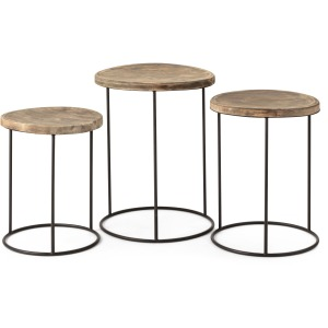 TY Tailgate Round Nesting Tables - Set of 3