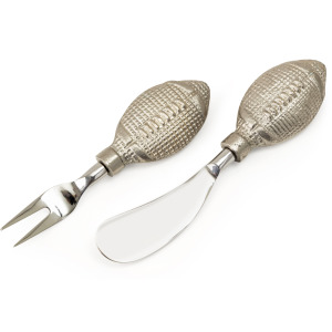 TY Tailgate Football Cheese Knives