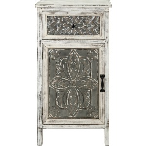Katina Galvanized Accent Chest