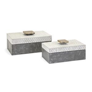 Parker Metal Boxes - Set of 2