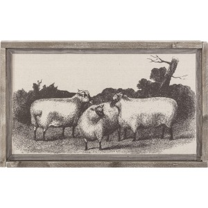 Wellington Sheep Wall Decor
