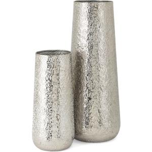 Artus Aluminum Vases - Set of 2