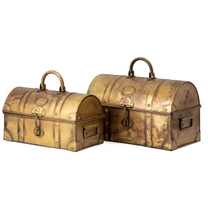 Fenn Iron Chests - Set of 2