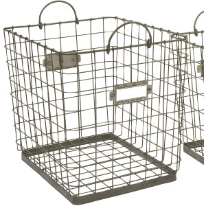 Newbridge Wire Storage Basket - Large
