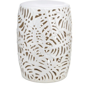 Palm Leaf Cutwork Garden Stool
