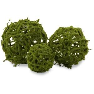 Topiary Spheres- Set of 3