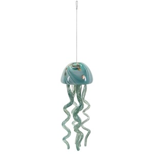 Jellyfish Small Glass Windchime