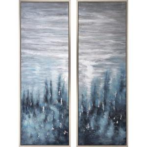 Roxanna Framed Oil Painting - Ast 2