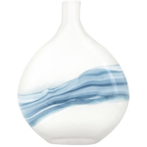Mist Small Art Glass Vase