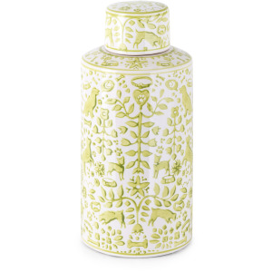 Otomi Small Handpainted Canister