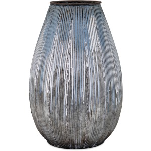 Robinson Large Metal Vase