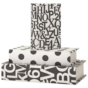 Margie Book Boxes - Set of 3