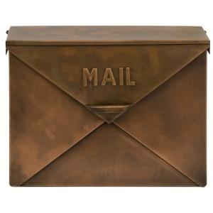 Tauba Copper Finish Mail Box