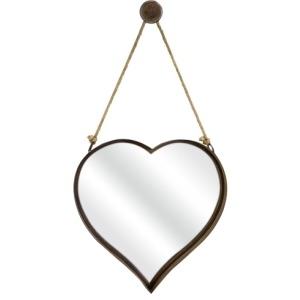 Heart Shape Wall Mirror - Large