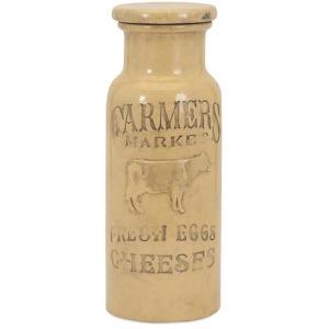 Farmers Market Large Lidded Jar