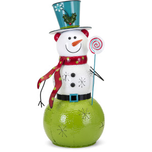 Whimsy Christmas Large Snowman Lantern