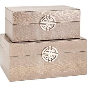 Marcela Lidded Boxes - Set of 2