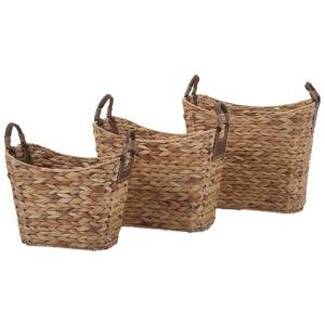 Niko Natural Weave Baskets - Set of 3