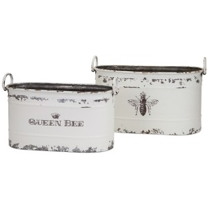 TY Queen Bee Tubs - Set of 2