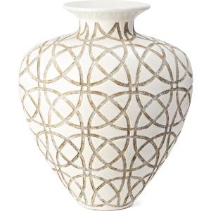 Kelsang Short Earthenware Vase