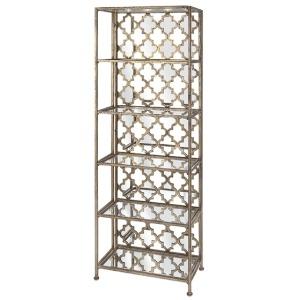 Beth Kushnick Mirrored Shelf