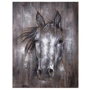 Whistle Framed Oil Painting