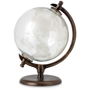 Cabot Glass and Metal Globe