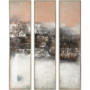 NK Hollis Oversized Oil Painting - Ast of 3