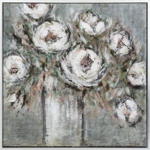 Dorrine Framed Oil Painting