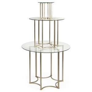 Simmons 3-Tier Table - Set of 3