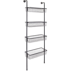 Truman Wall Four-Basket Shelf