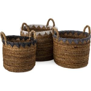 Mason Baskets - Set of 3