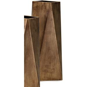 Contempo Metal Vase - Medium