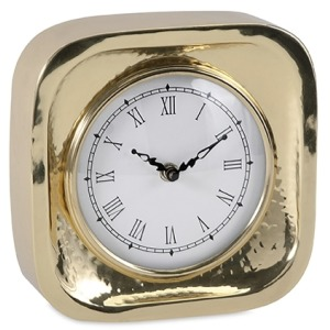 Essentials Celebrations Gold Clock