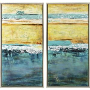 Capri Framed Oil Painting - Ast 2