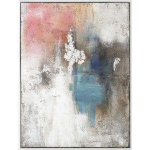 Nebula Framed Oil Painting